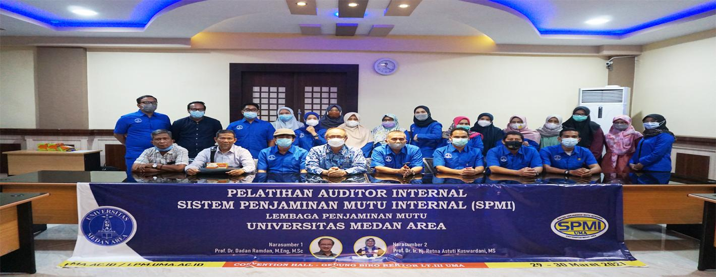 Pelatihan Auditor Internal UMA (hari-1)
